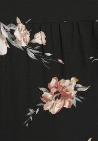 ONLY Carmakoma - CARLUXCILLE SS MIDI DRESS  - Day dress - black - 5