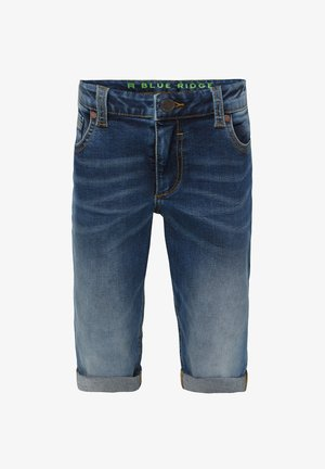 WE FASHION JUNGEN-REGULAR-FIT-JEANSSHORTS - Shorts vaqueros - blue