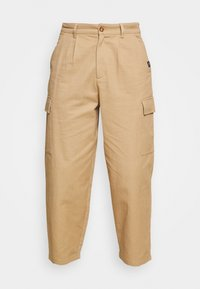 Vintage Supply - BAGGY CARPENTER TROUSERS - Trousers - sand - 4