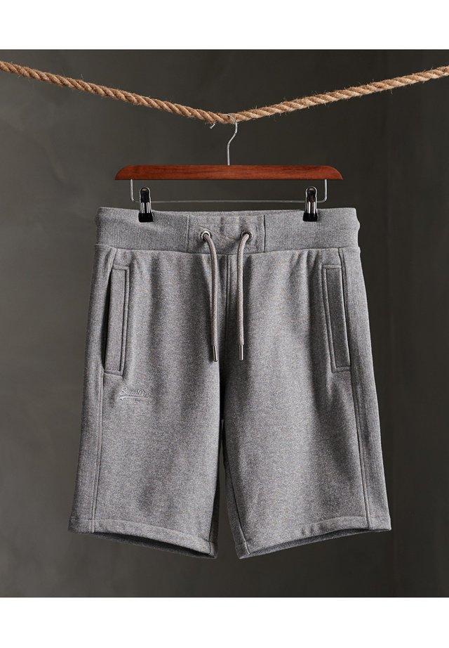 CLASSIC  - Shorts - mid grey birdseye