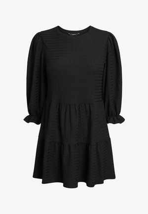 TEXTURED - Tunic - metallic black