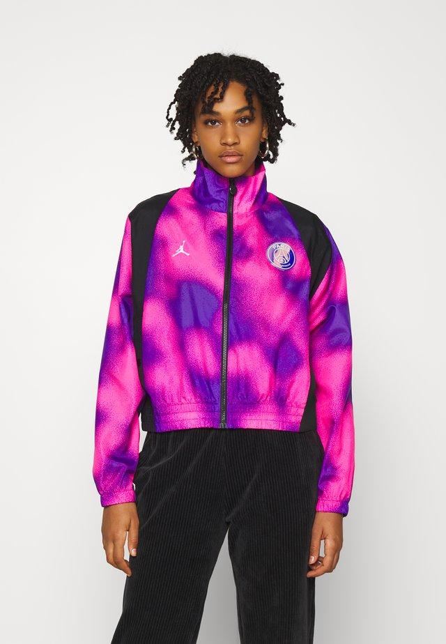 WARM UP - Giacca sportiva - psychic purple/black