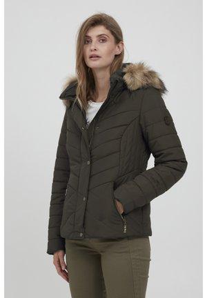 Winter jacket - green ink