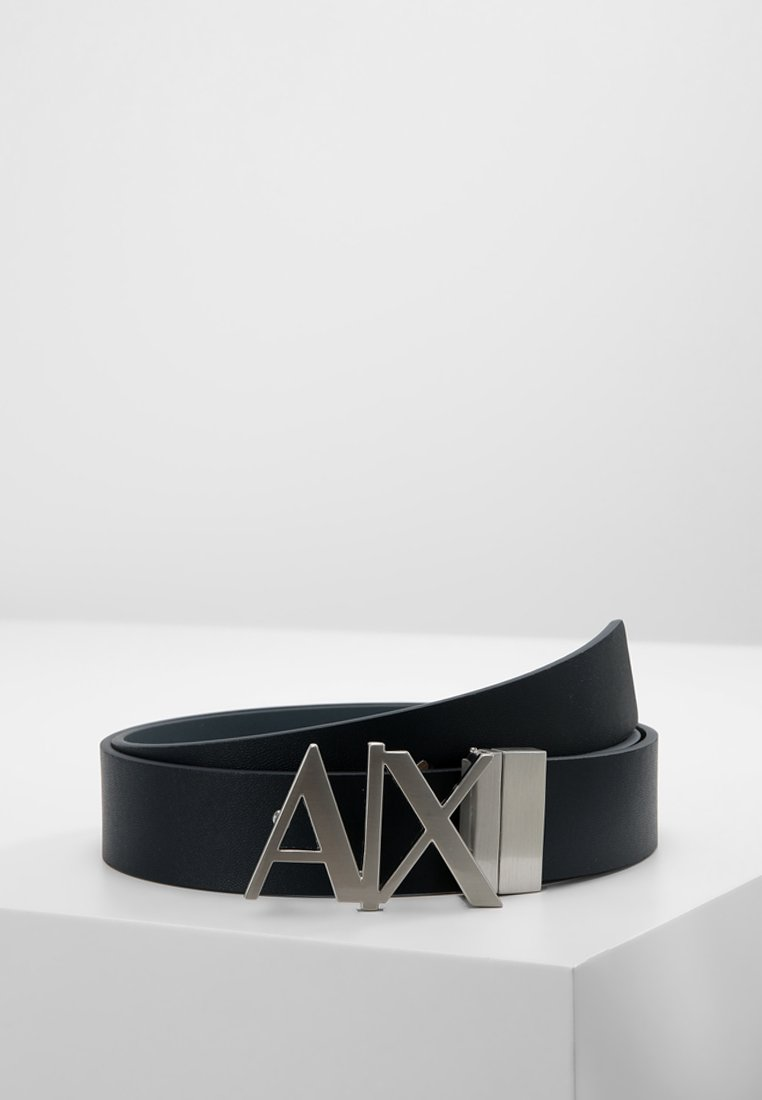 Armani Exchange - BELT - Belt - blue navy