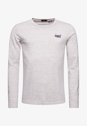 VINTAGE EMB LS  - Long sleeved top - silver birch feeder