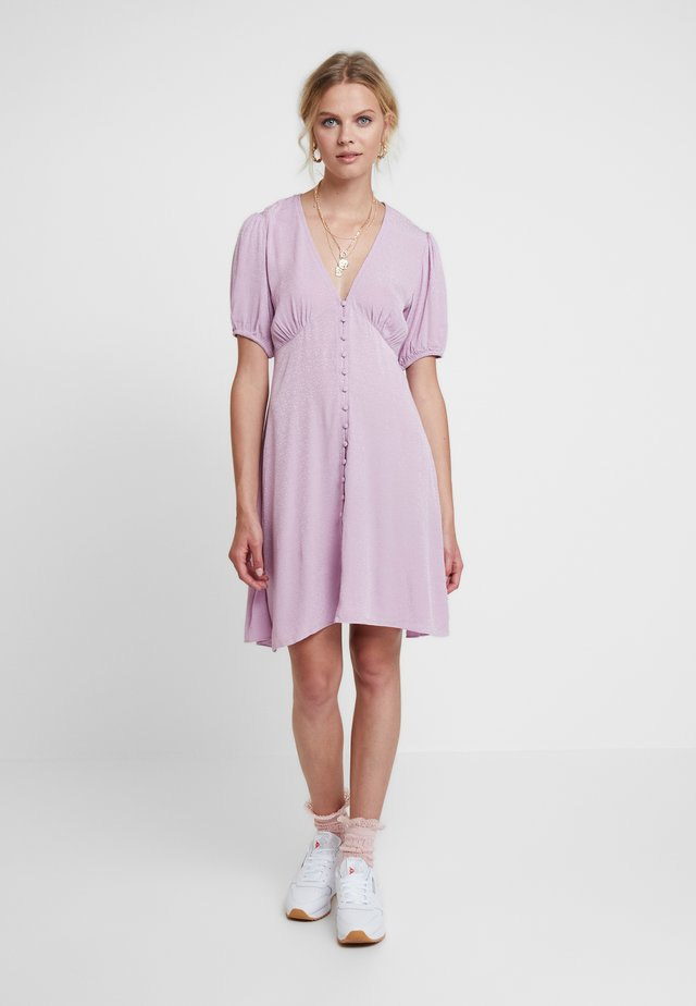 PETUNIA SHORT DRESS 11511 - Shirt dress - lavendar herb