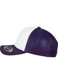 Flexfit - Cap - purple/ white - 2