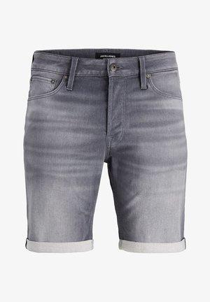 PLUS SIZE JEANS SHORTS RICK ICON GE 005 I.K - Jeans Shorts - grey denim