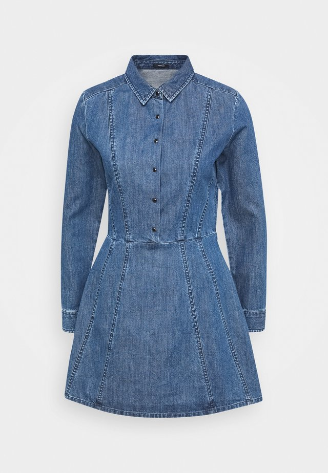 PARIS DRESSHIR - Denim dress - blue