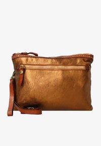 Campomaggi - Across body bag - bronzo+t/cognac - 0