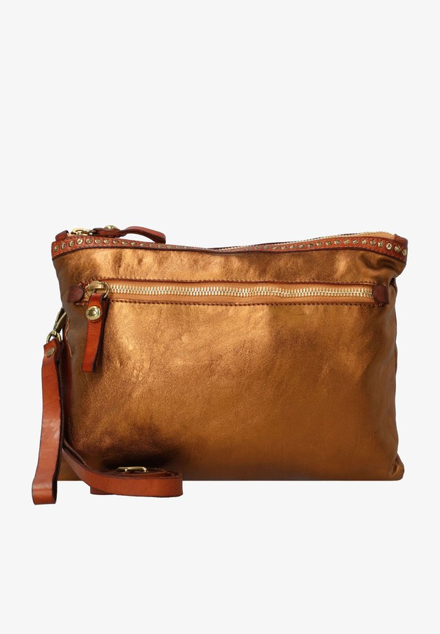 Across body bag - bronzo+t/cognac