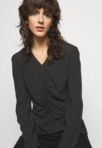 By Malene Birger - ANNIKE - Bluzka z długim rękawem - black - 3