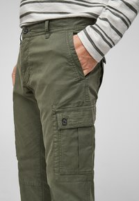 s.Oliver - Cargo trousers - olive - 4