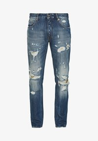 Just Cavalli - PANTS 5 POCKETS - Slim fit jeans - blue denim - 5