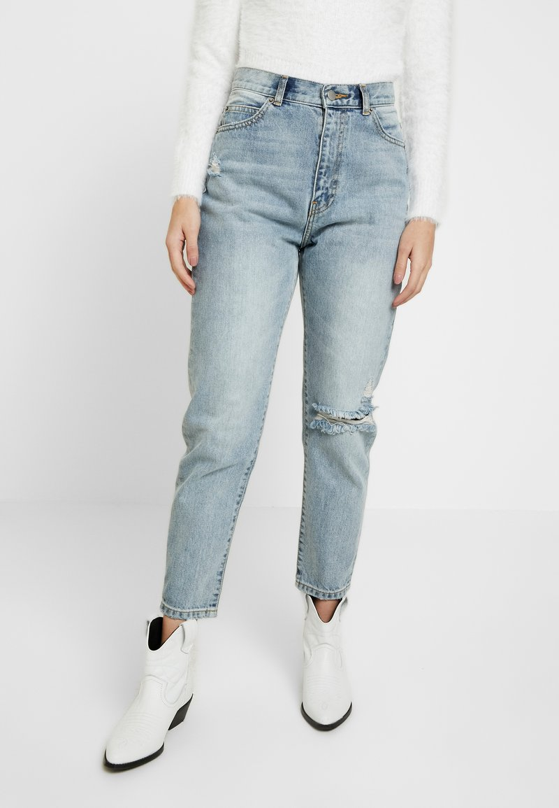 Dr.Denim Petite - NORA - Relaxed fit jeans - stone blue denim