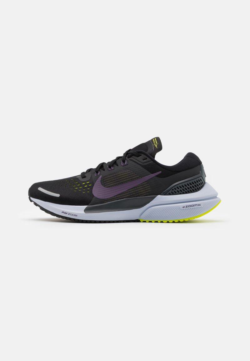 Nike Performance - AIR ZOOM VOMERO 15 - Neutral running shoes - black/dark raisin/anthracite/cyber