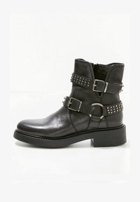 Inuovo - Cowboy/biker ankle boot - black blk - 1