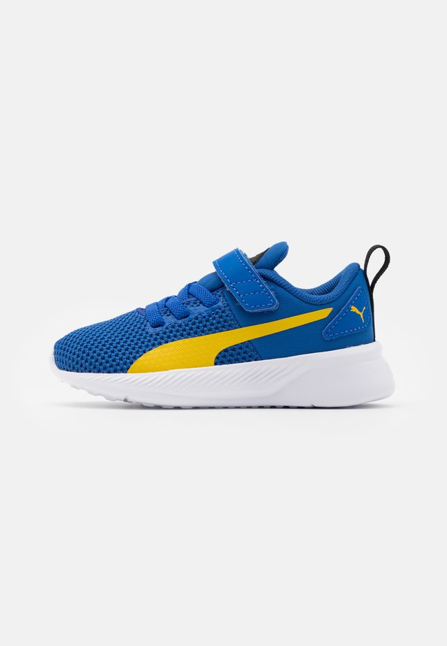 FLYER RUNNER UNISEX - Obuwie do biegania treningowe - lapis blue/super lemon/white