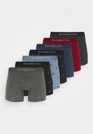 ICON 7 PACK - Pants - black/dark grey/red/blue/navy
