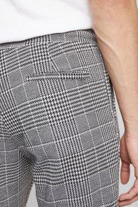 Zign - Kalhoty - white/black - 3