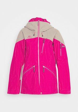 WOMENS BACKSIDE JACKET - Chaqueta de esquí - pink