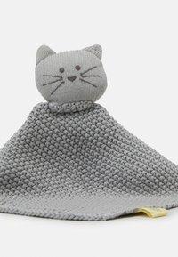 Lässig - BABY COMFORTER LITTLE CHUMS CAT - Mazlící dečka - grey - 2