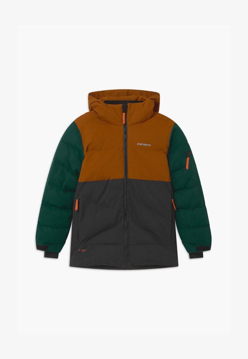 Icepeak - LOUDON UNISEX - Snowboardová bunda - cognac