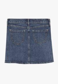 Abercrombie & Fitch - SKIRT - Denim skirt - medium wash denim - 1