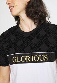 Glorious Gangsta - HERVOS TEE - Print T-shirt - optic white - 3