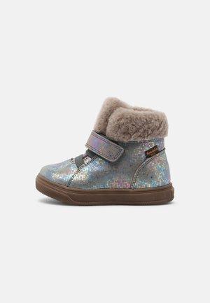 BASCO TEX - Winter boots - grey/silver