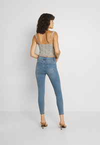Cotton On - MID RISE CROPPED - Jeans Skinny Fit - jetty blue - 2