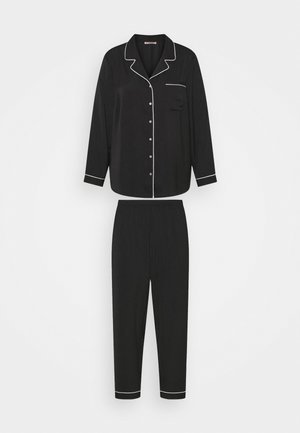 AMANDA LONG PJ SET  - Yöasusetti - black
