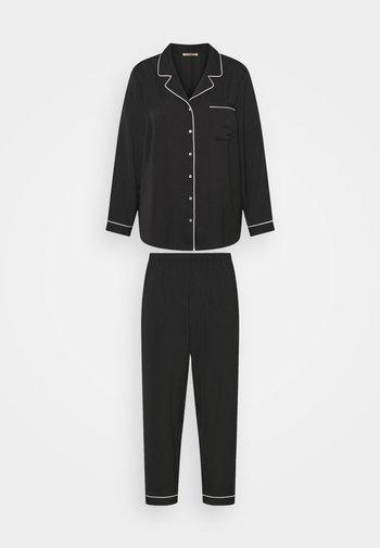 AMANDA LONG PJ SET  - Pyjama set - black