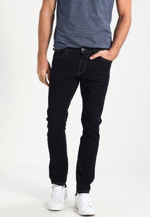 5 POCKET PANTS - Straight leg jeans - rinsed blue denim