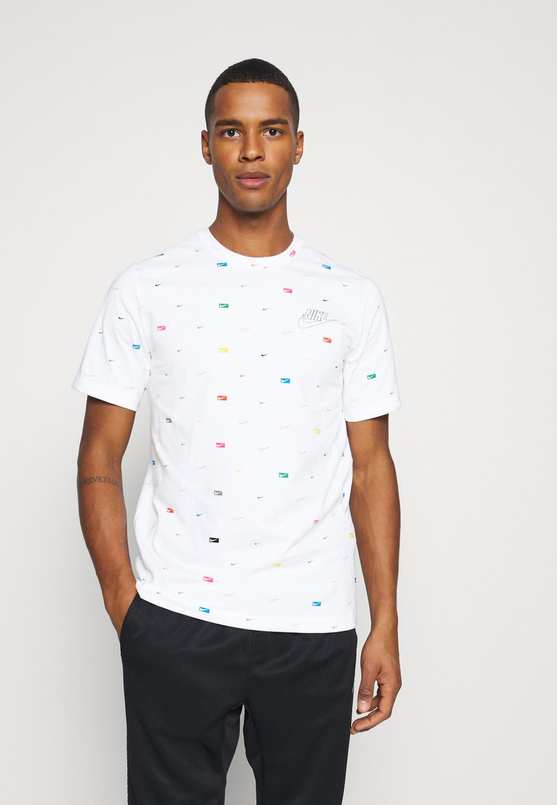Nike Sportswear - T-shirt imprimé - white