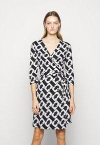 Diane von Furstenberg - NEW JULIAN TWO - Jersey dress - black/white - 0