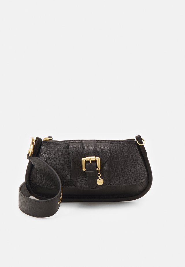 LESLY LESLY BAGUETTE - Handbag - black