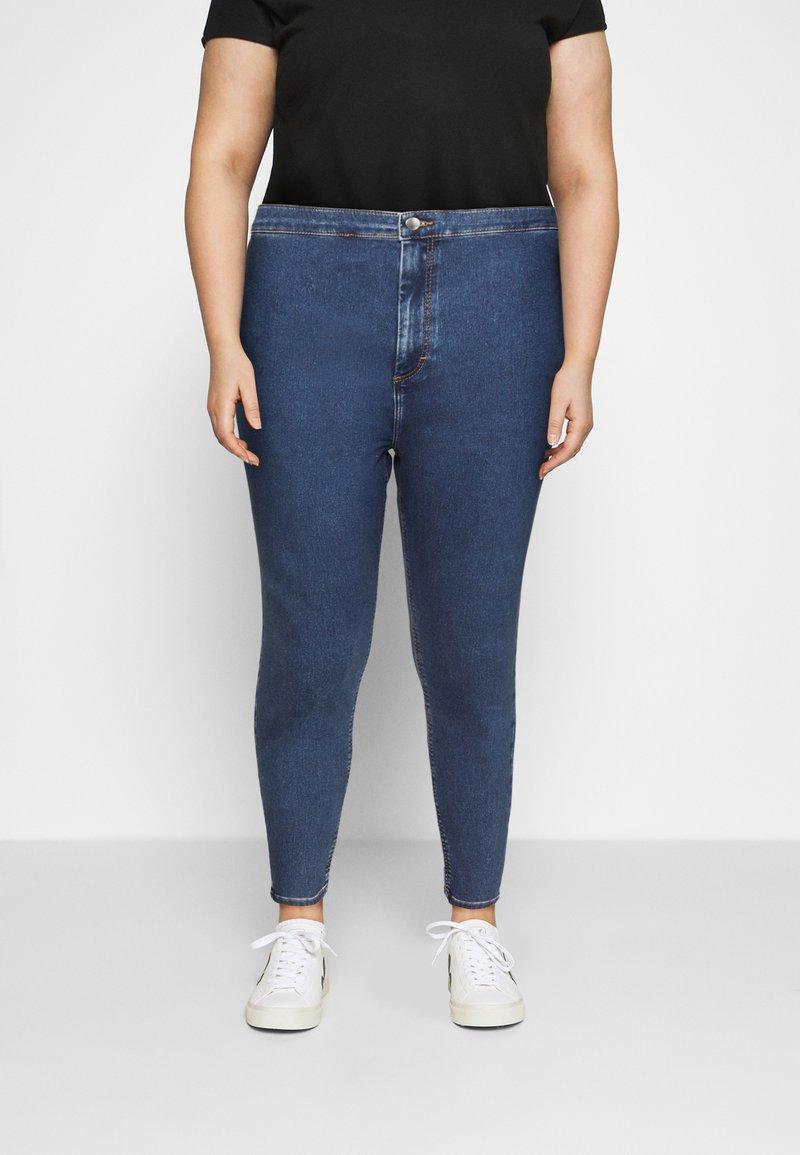 Even&Odd Curvy - JEGGING - Jeans Skinny Fit - blue denim