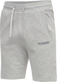 Hummel - HMLLEGACY - Träningsshorts - grey melange - 1