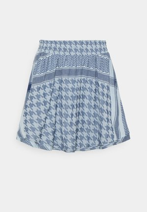 SKIRT LIGHT - Minisukně - ballad blue