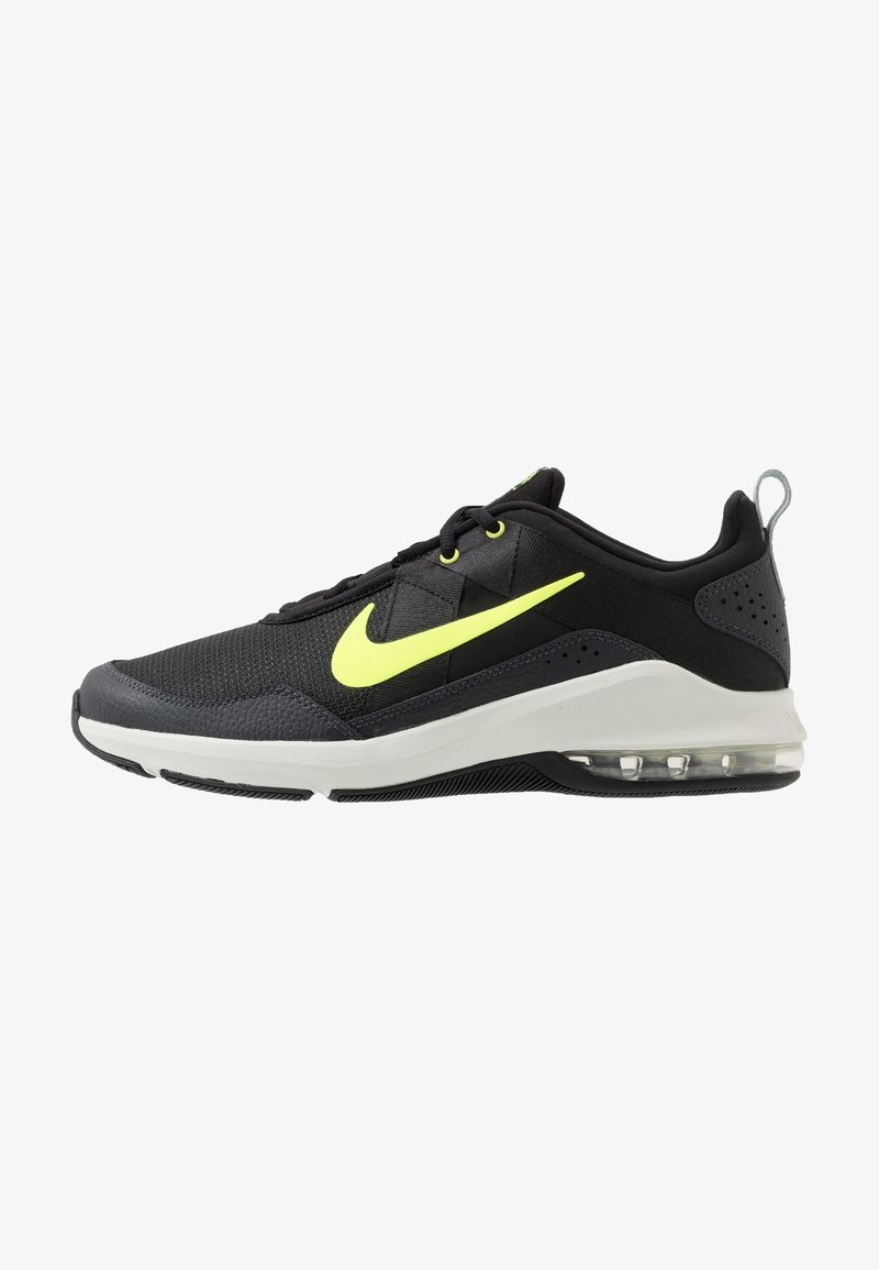 Nike Performance - AIR MAX ALPHA TRAINER 2 - Sports shoes - black/volt/dark smoke grey/spruce aura