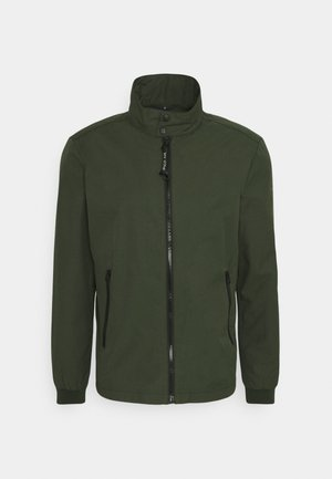 JACKET REGULAR FIT STAND UP COLLAR - Tunn jacka - dried herb