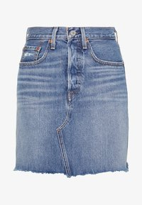 Levi's® - DECON ICONIC SKIRT - A-line skjørt - stone blue denim - 4