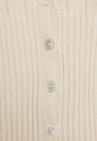 Missguided Petite - BALLOON SLEEVE CROP CARDIGAN - Cardigan - beige - 2