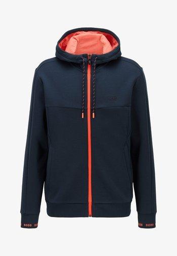 SAGGY  - Zip-up hoodie - dark blue