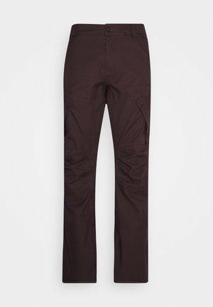 ARTICULATED PANT - Skibroek - black/red
