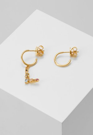 E EARRING - Earrings - gold-coloured