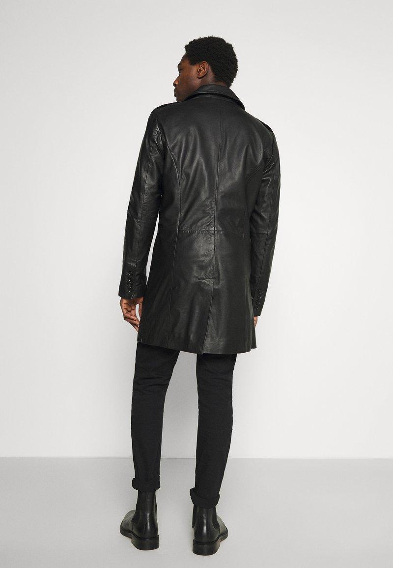 Goosecraft - KAI COAT - Krátký kabát - black