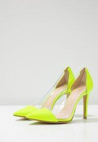 Bianca Di - High heels - fluo giallo - 4