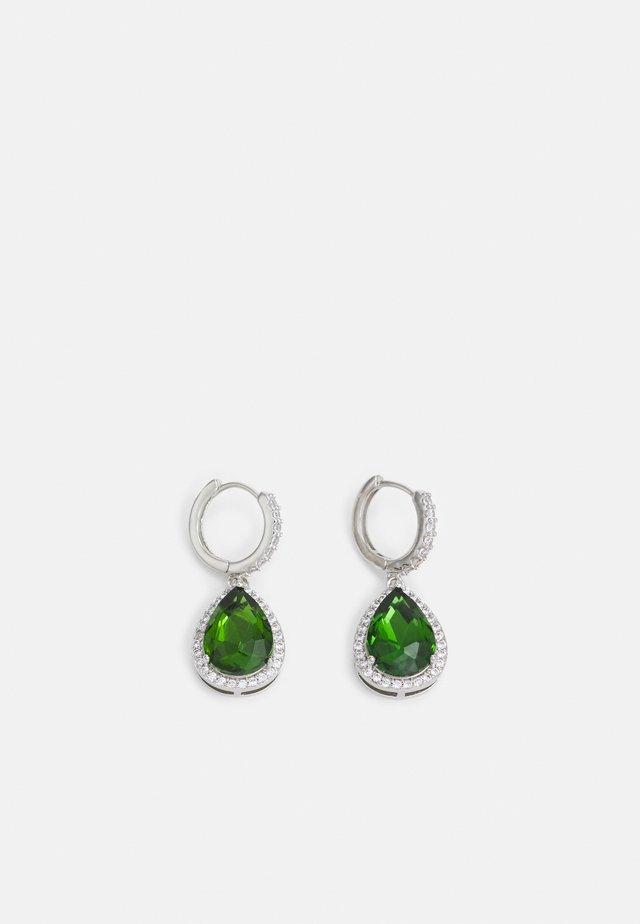 GRIACLYA - Oorbellen - emerald/clear